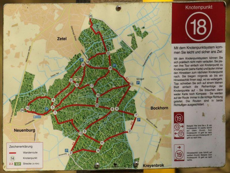 Afbeelding Kaart Neuenburger Urwald