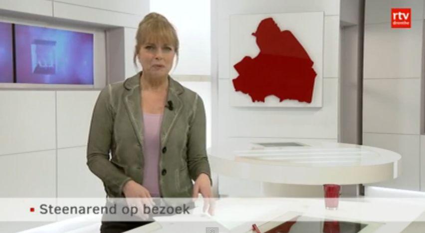 RTV Drenthe - Steenarend (Golden Eagle) gespot bij Stadskanaal