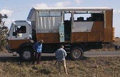 Onze safari-truck