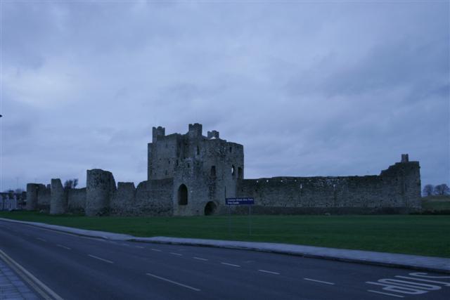 Trim Castle, waar de film Braveheart in opgenomen (c) jcdv 2007