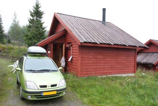 Ons eerste bungalow in Nordseter.