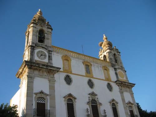 Ooievaars in Faro